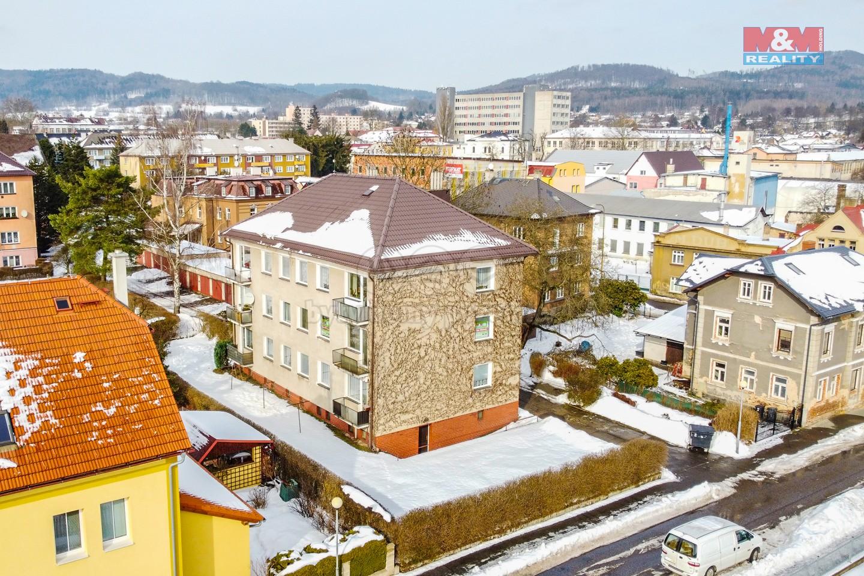 Prodej bytu 4+1, 87 m², Nový Bor, ul. Sklářská