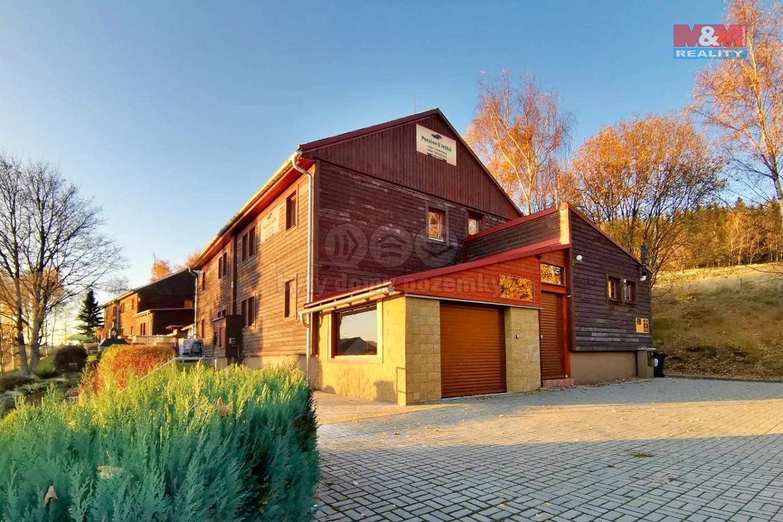 Prodej penzionu, 374 m², Jáchymov, ul. Petra Jilemnického