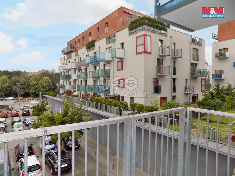 Pronájem, byt 2+kk, 56 m2, Praha 10 - Vršovice