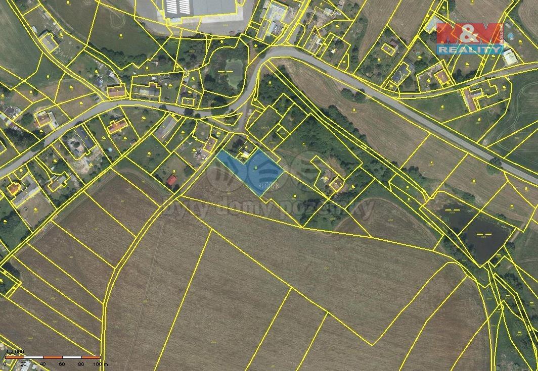 Prodej pozemku k bydlení, 1664 m², Nové Lublice