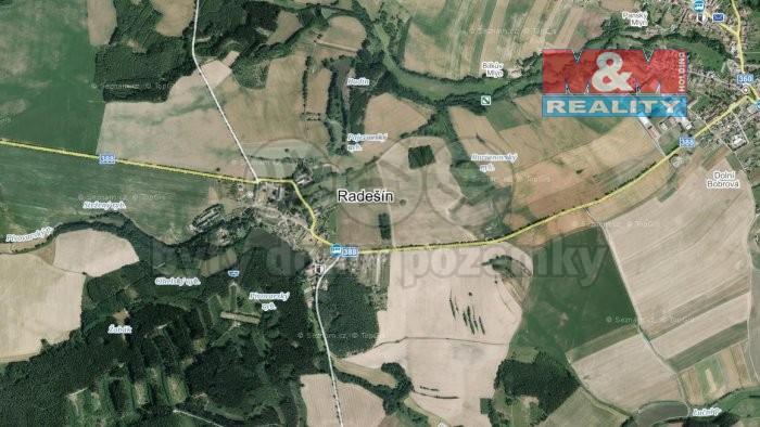 Prodej, les 12617 m2 , Příbram - Petrovice - Radešín