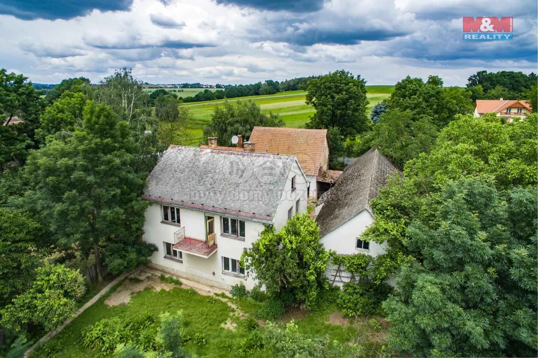 Prodej, rodinný dům, 2250 m², Zhoř u Mladé Vožice