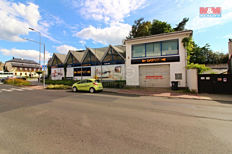 Prodej obchodního objektu, 733 m², Nový Bor