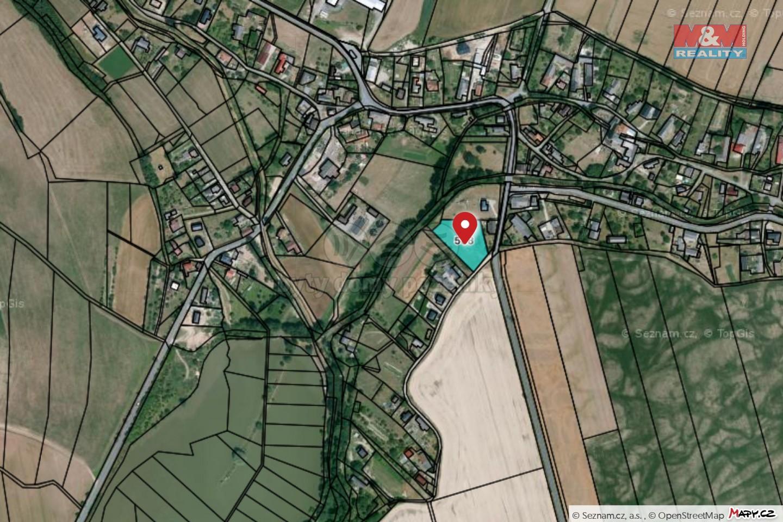 Prodej pozemku k bydlení, 4160 m², Libina
