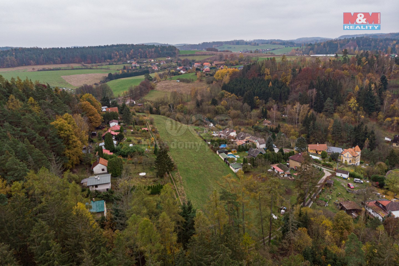 Prodej pozemku k bydlení, 5985 m², Chocerady