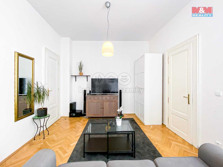 Pronájem bytu 2+1, 48 m², Praha 1, ul. Karlova