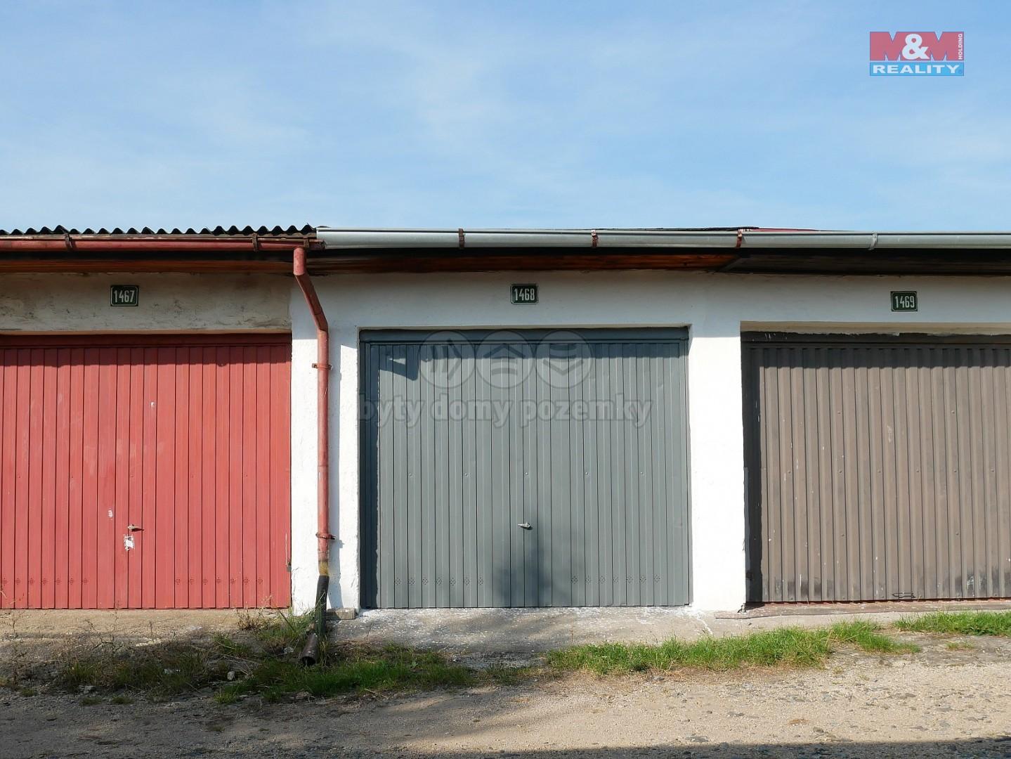 Pronájem garáže, 17 m², Sokolov, ul. Fügnerova