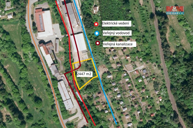 Prodej provozní plochy, 2447 m², Valašské Klobouky
