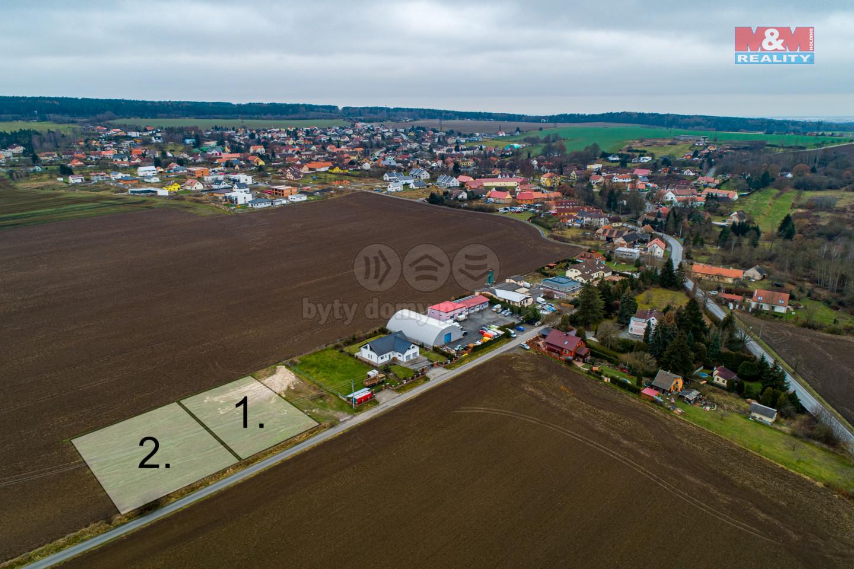 Prodej pozemku k bydlení, 2551 m², Kyšice