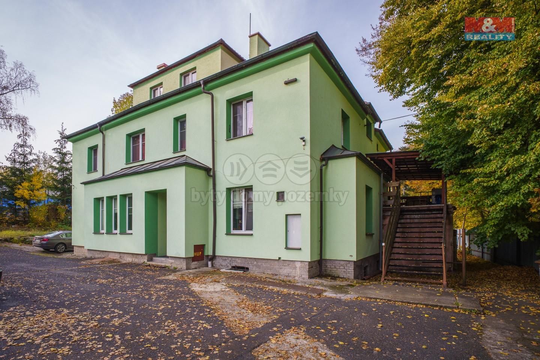 Prodej nájemního domu, 2021 m², Cheb, ul. 17. listopadu