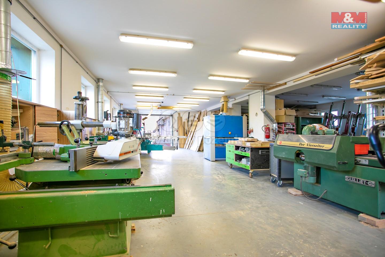 Prodej výrobního objektu, 244 m², Horažďovice, ul. Předměstí