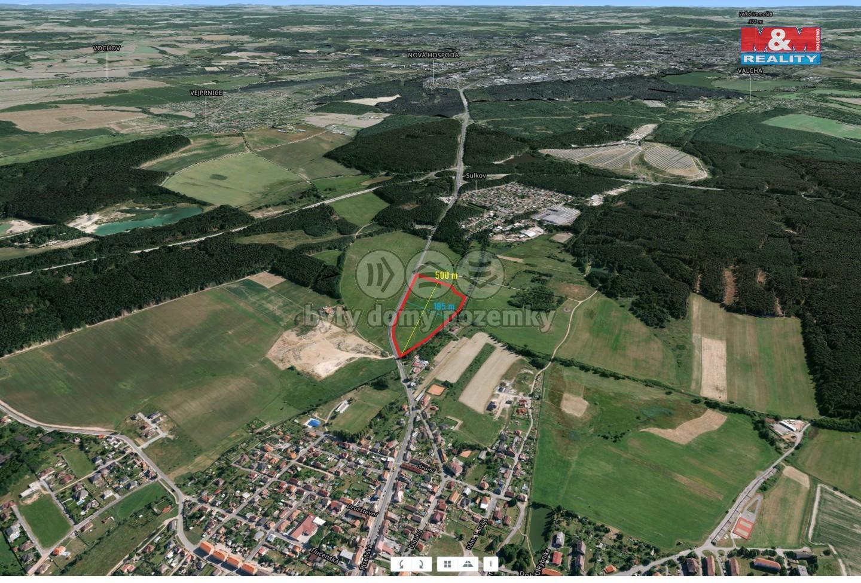 Prodej, stavební parcela, 71206 m2, Plzeň - Líně