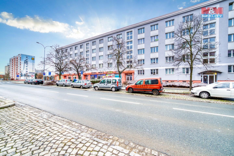 Pronájem bytu 2+1, 55 m², Plzeň, ul. Částkova