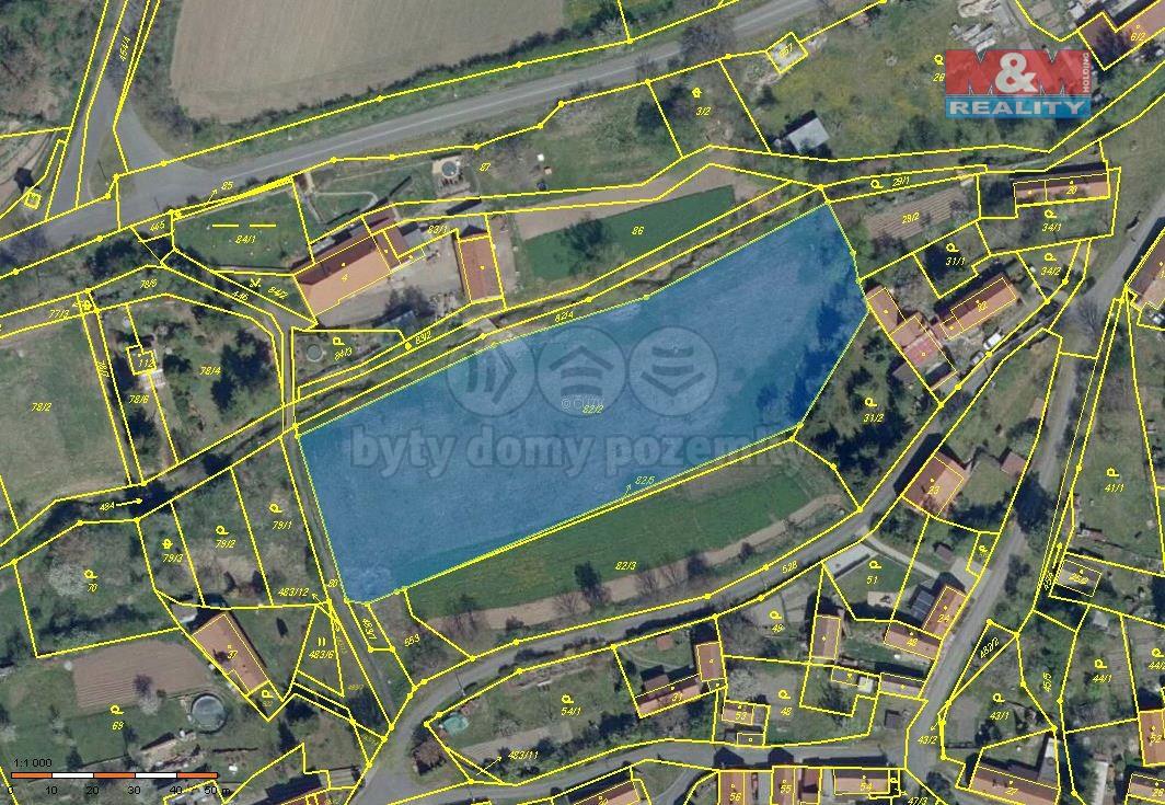 Prodej pozemku k bydlení, 6616 m², Brodec