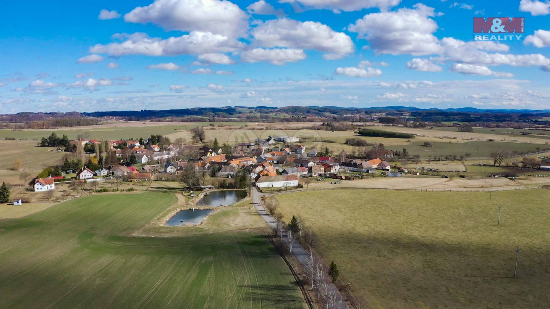 Prodej pozemku k bydlení, 7641 m², Chanovice