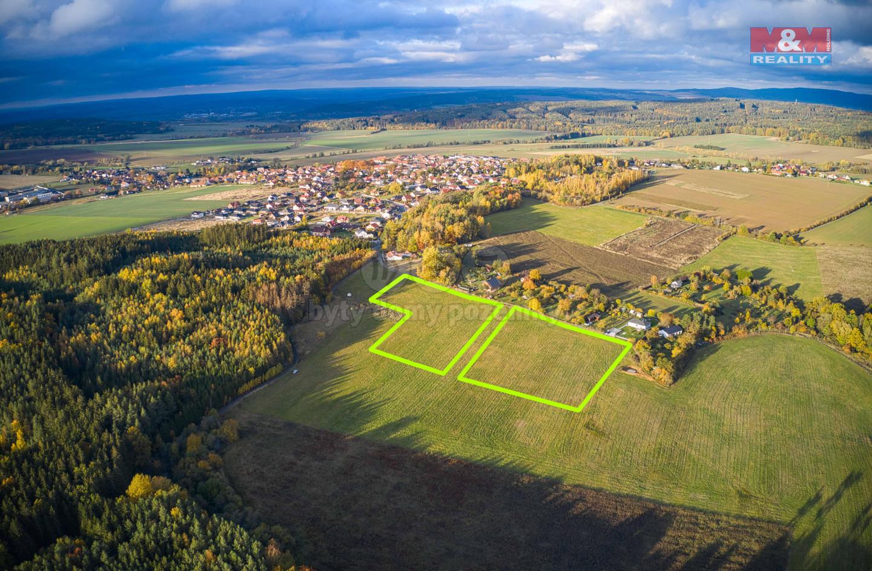 Prodej pastviny, 32000 m², Tymákov okr. Plzeň-město