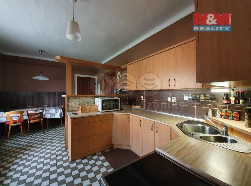Pronájem bytu 2+1, 104 m², Velká Bystřice, ul. ČSA