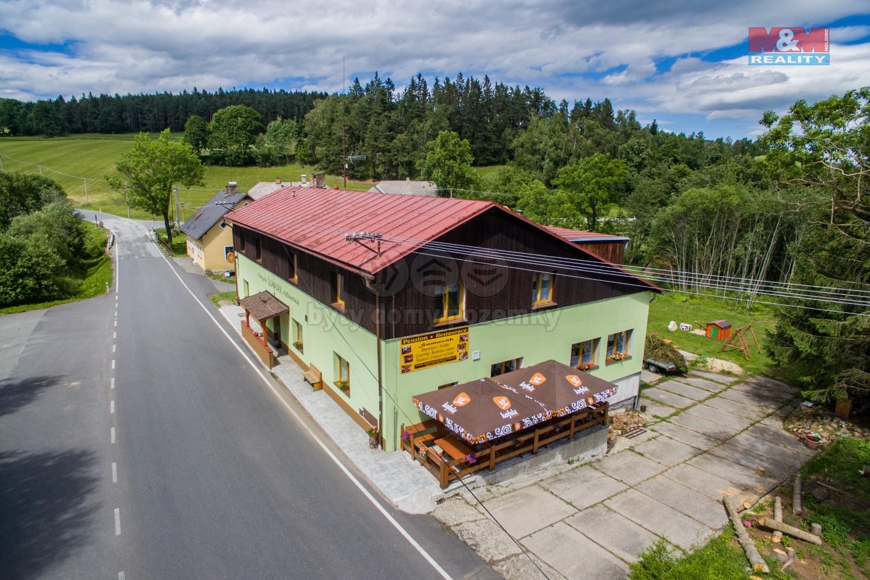 Prodej penzionu s restaurací, 11467 m², Stachy, ul. Šebestov