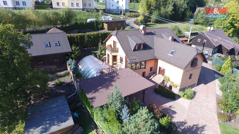 Prodej rodinného domu s ubytováním, Velké Hamry