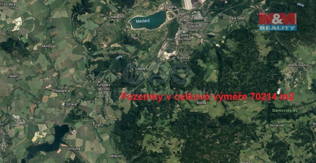 Prodej, louka, 70214 m2, Ostrov u Březové