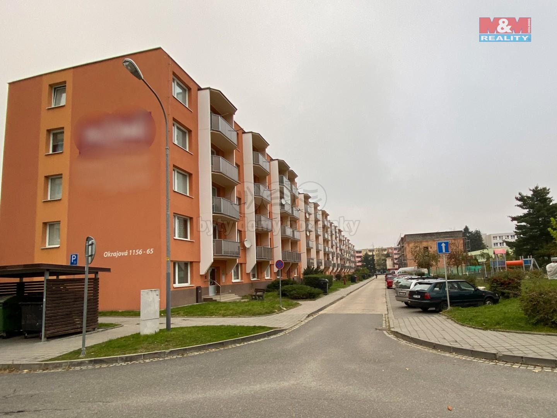 Pronájem bytu 2+1, 52 m², Třebíč, ul. Okrajová