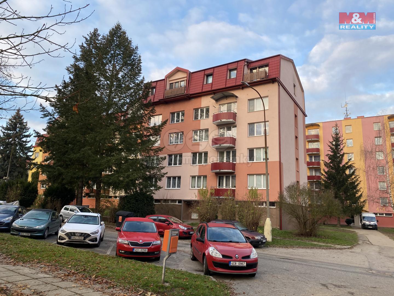 Pronájem bytu 2+kk, 42 m², Týn nad Vltavou, ul. Malostranská