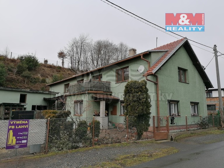 Prodej, rodinný dům 5+2, Fulnek-Lukavec