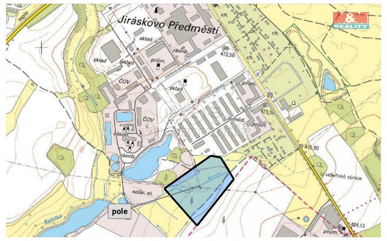 Prodej pole, Jindřichův Hradec