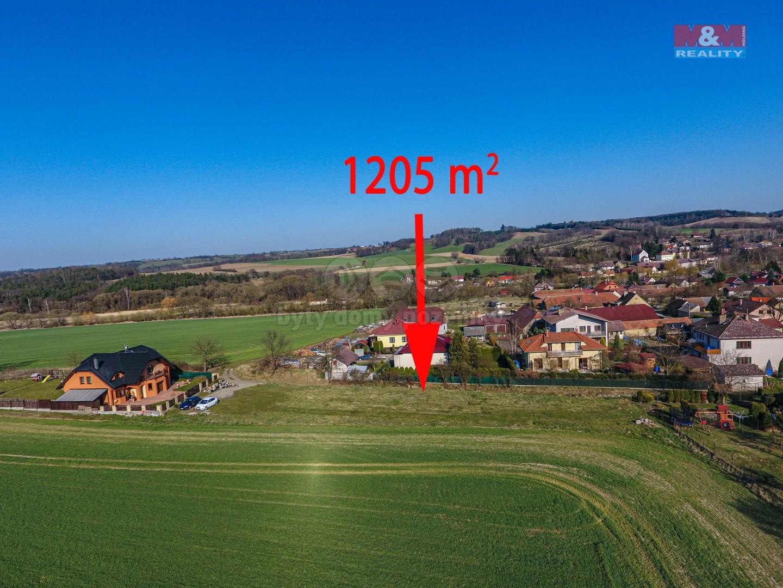 Prodej pozemku k bydlení, 1205 m², Václavice