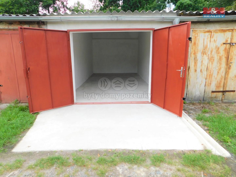 Pronájem garáže, 23 m², Cheb, Šv. Vrch, U Výtopny