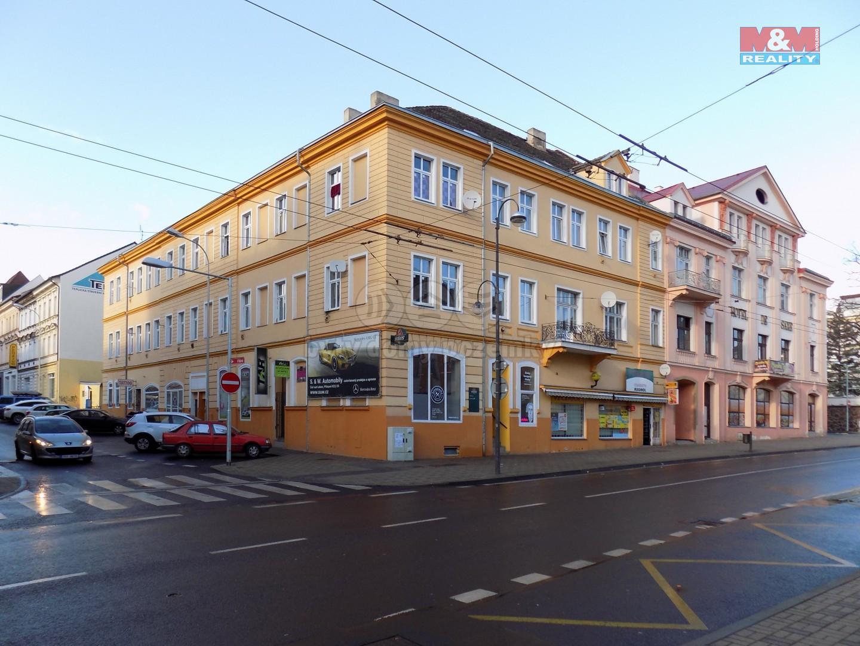 Pronájem bytu 1+kk, 30 m², Teplice, ul. U nádraží