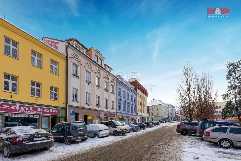 Pronájem bytu 1+kk, 35 m², Klatovy, ul. Rybníčky