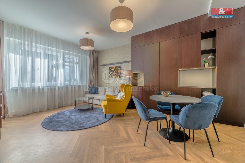 Pronájem bytu 2+kk, 46 m², Praha, ul. Rybná