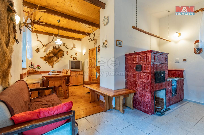 Prodej chalupy, 85 m², Zlaté Hory