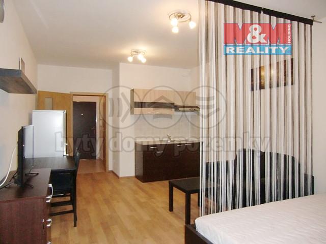 Pronájem bytu 1+kk, 37 m2, Praha 9 - Letňany
