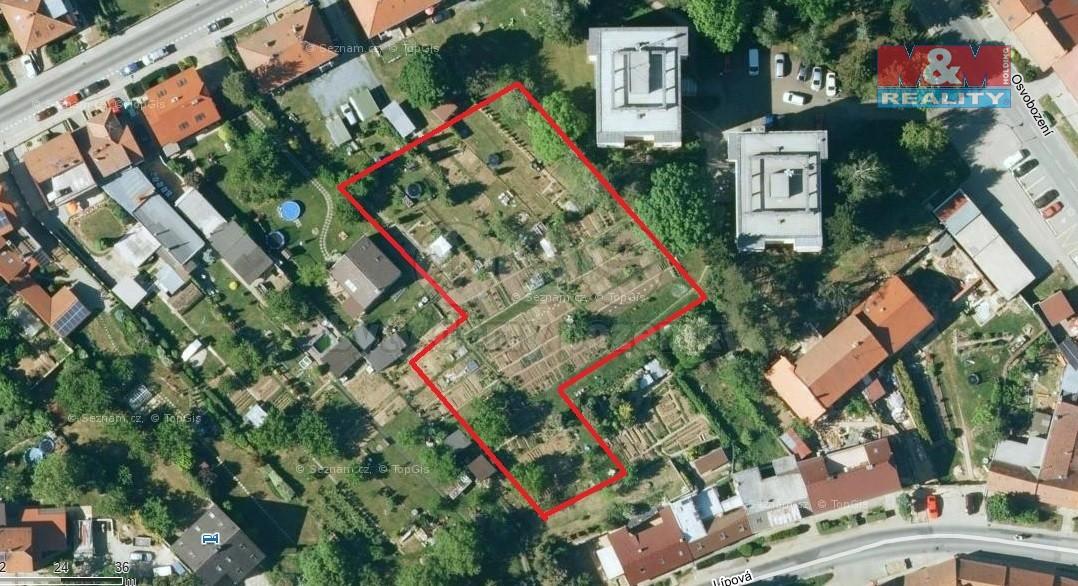 Prodej pozemku k bydlení, 3461 m2, Ostopovice