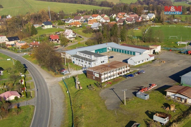 Prodej výrobního objektu, 6602 m², Tichá