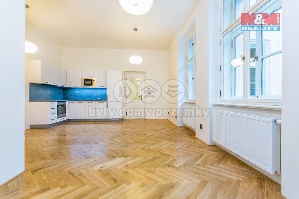 Pronájem bytu 2+kk, 60 m2, Praha - Nové Město