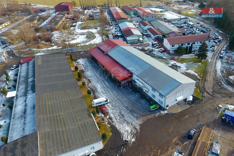 Pronájem výrobního objektu, 865 m², Klášterec nad Ohří