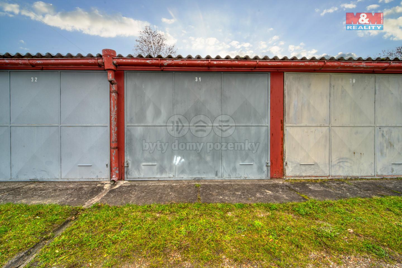 Prodej garáže v Plzni, ul. Univerzitní