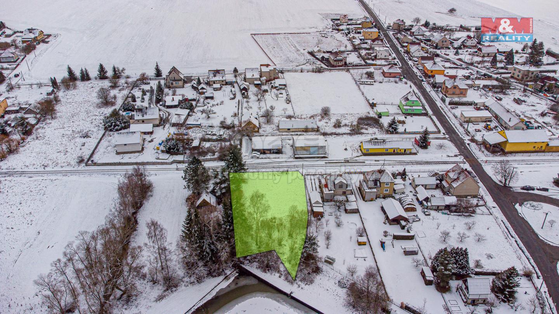 Prodej pozemku k bydlení, 1211 m², Spálené Poříčí