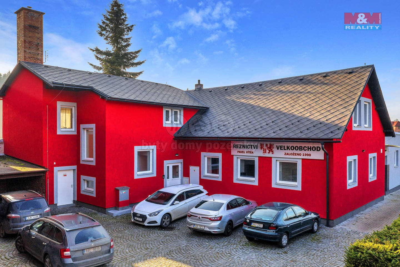 Pronájem výrobního objektu, 3845 m², Červený Kostelec