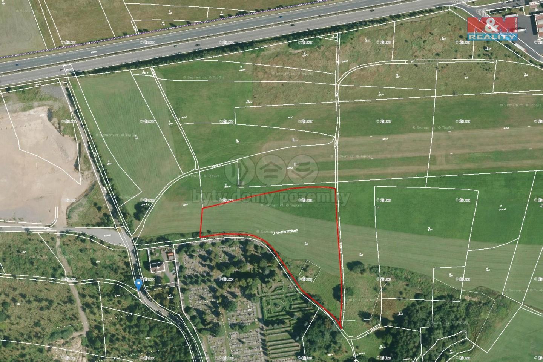 Prodej, pozemek, 14665 m2, Rokycany