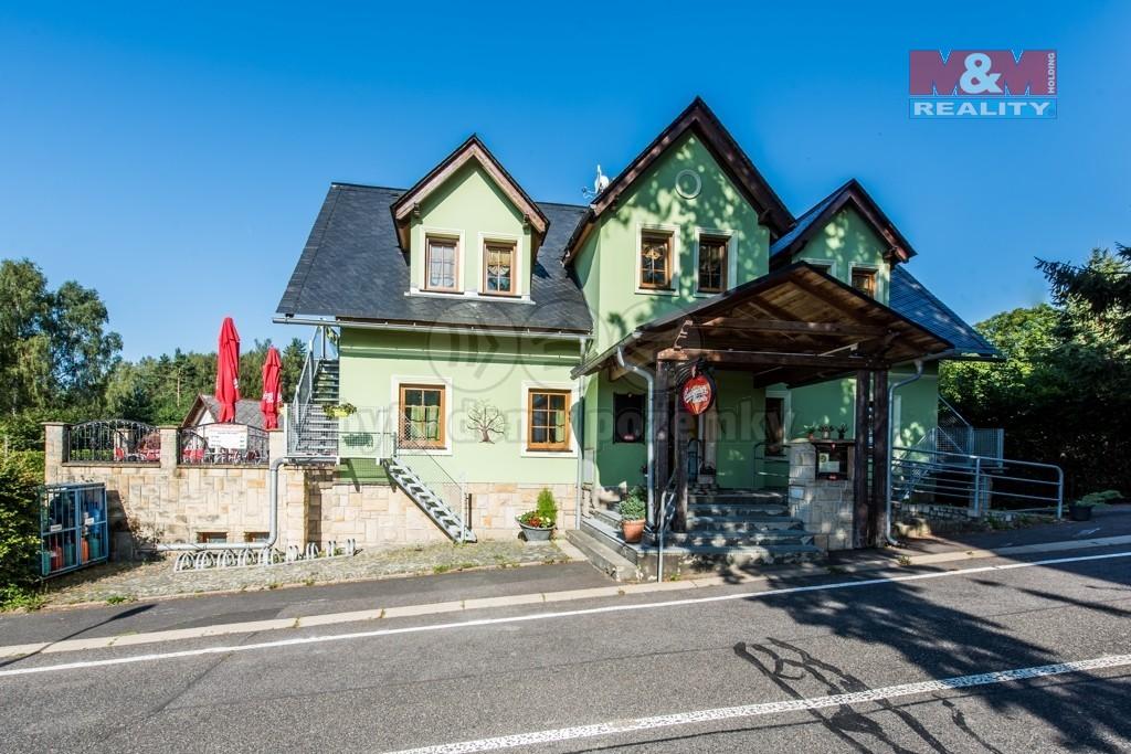 Prodej penzionu a rodinného domu, 871 m², Jablonné v P.