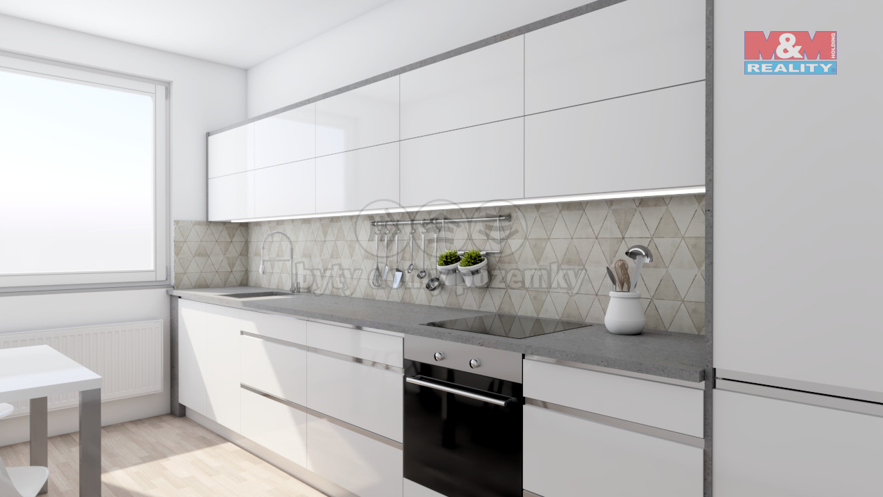 Prodej bytu 3+kk, 68 m², Ostrava - Poruba, ul. Komenského