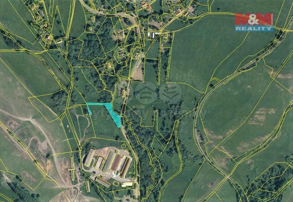 Prodej louky, 2373 m², Volfartice