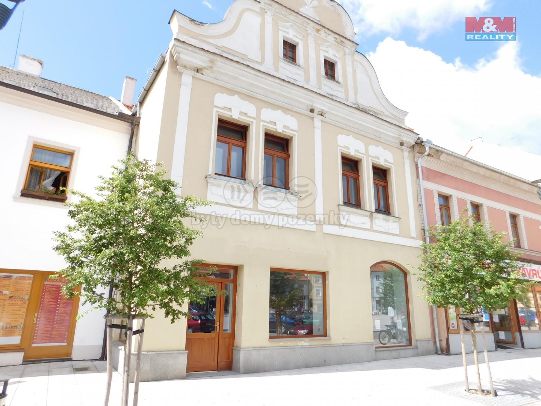 Pronájem, obchod a služby, Horažďovice, ul. Mírové náměstí