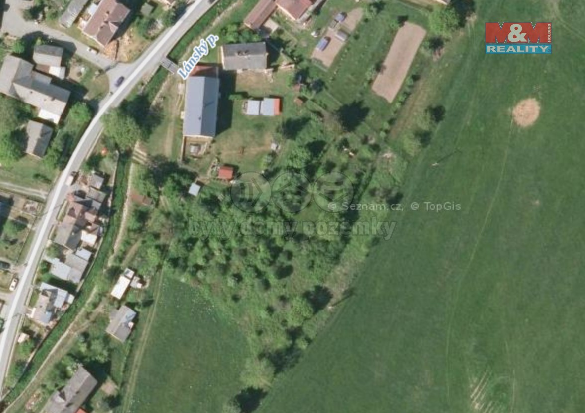 Prodej pozemku k bydlení, 4288 m², Uhelná