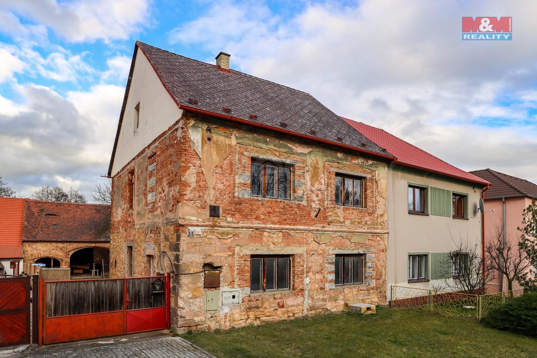 Prodej, rodinný dům, 185 m2, Vroutek, okr. Louny