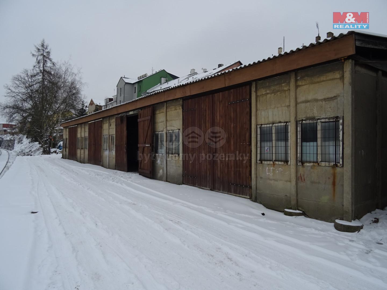 Pronájem skladu, 183 m², Plzeň, ul. Lobezská